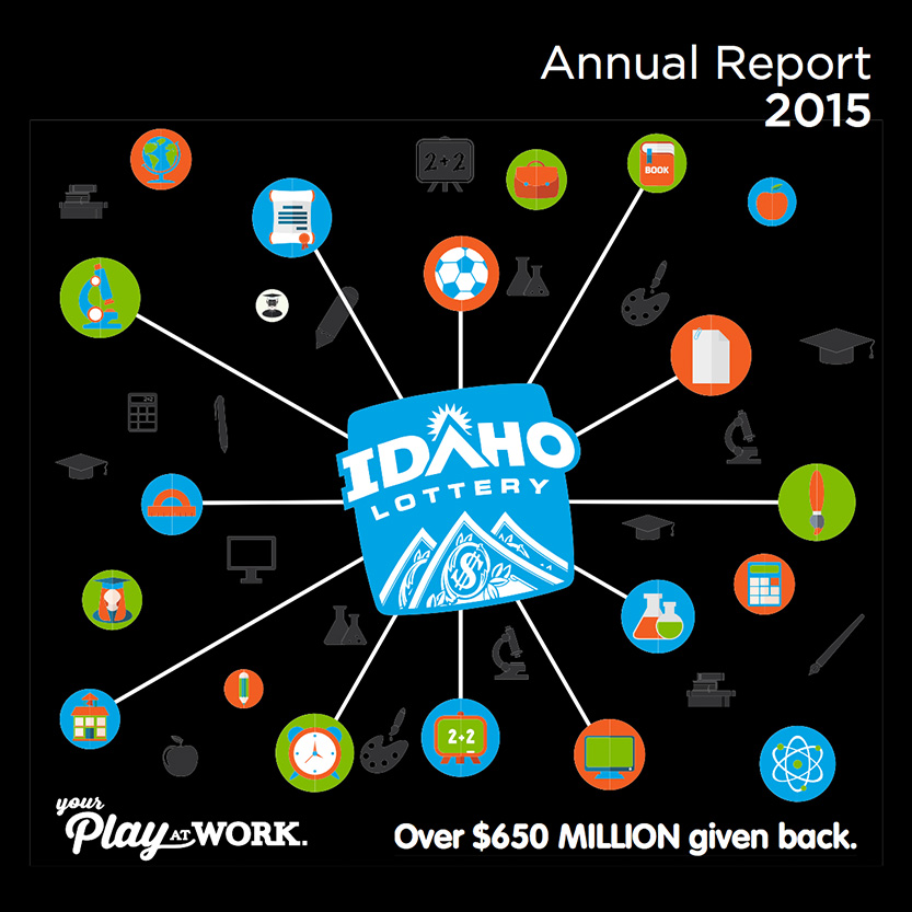 2015 Idaho Lottery Annual Report (Cover)