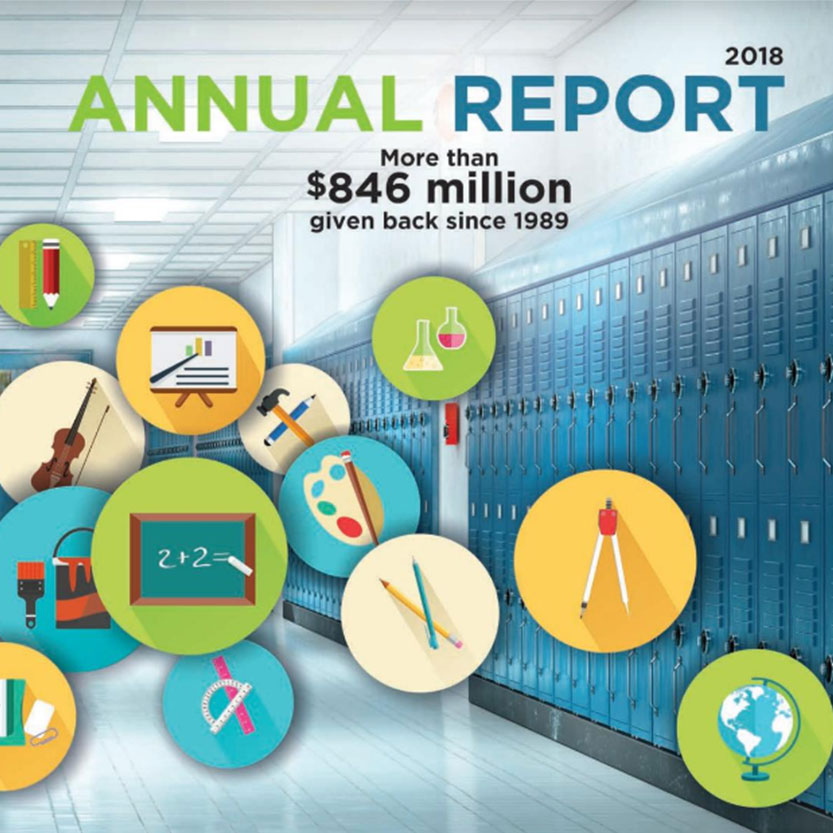 2017 Idaho Lottery Annual Report Cover