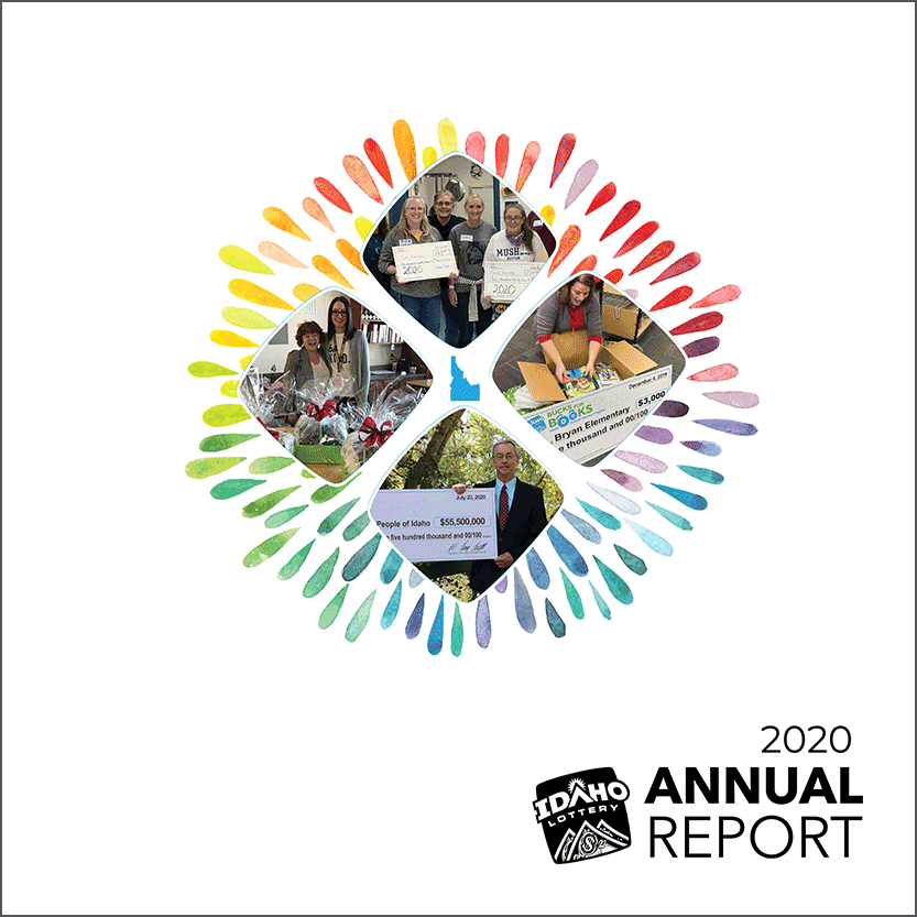 2019 Idaho Lottery Annual Report Cover