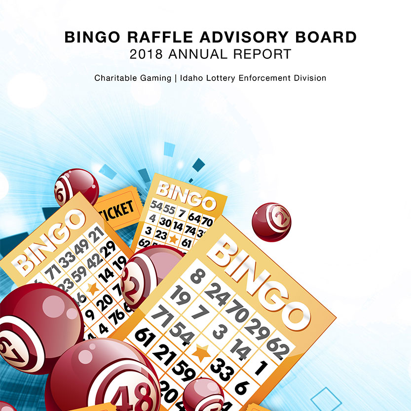 2018 Idaho Lottery Annual Report Cover