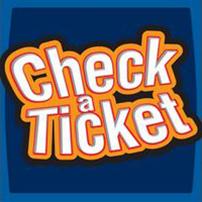 Check A Ticket Icon